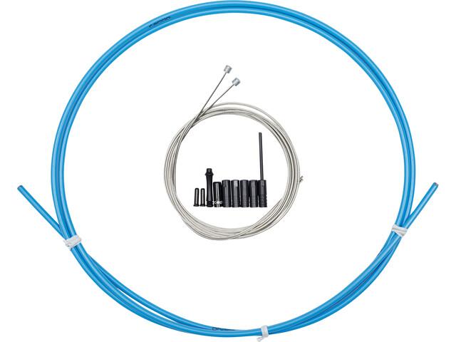 capgo BL Schaltset für Shimano/Sram ROAD & ATB/MTB blau